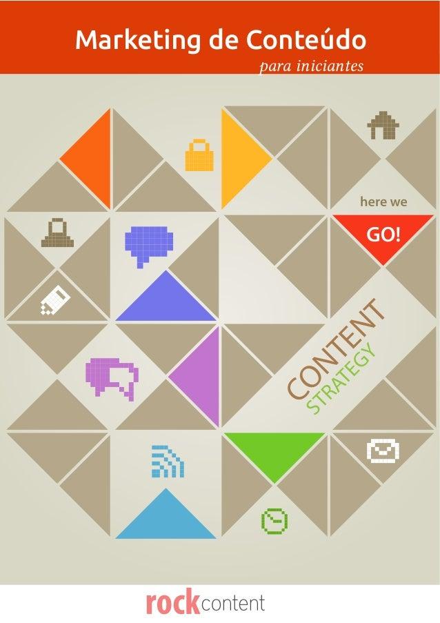 CONTENTSTRATEGYMarketing de Conteúdopara iniciantes