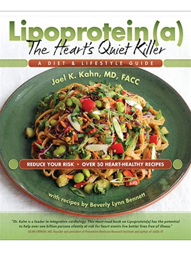 Ebook Online Lipoprotein(a), The Heart's Quiet Killer: A Diet & Lifestyle Guide TRIAL EBOOK