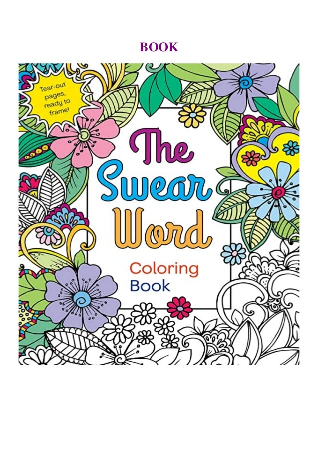 Ebook Online The Swear Word Coloring Book Kindle