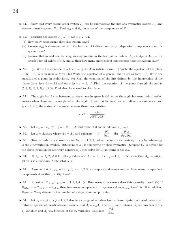 Ebook Pdf Physics Introduction To Tensor Calculus And Continuum