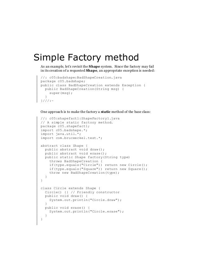 E Book Pdf Thinking In Patterns With Java
