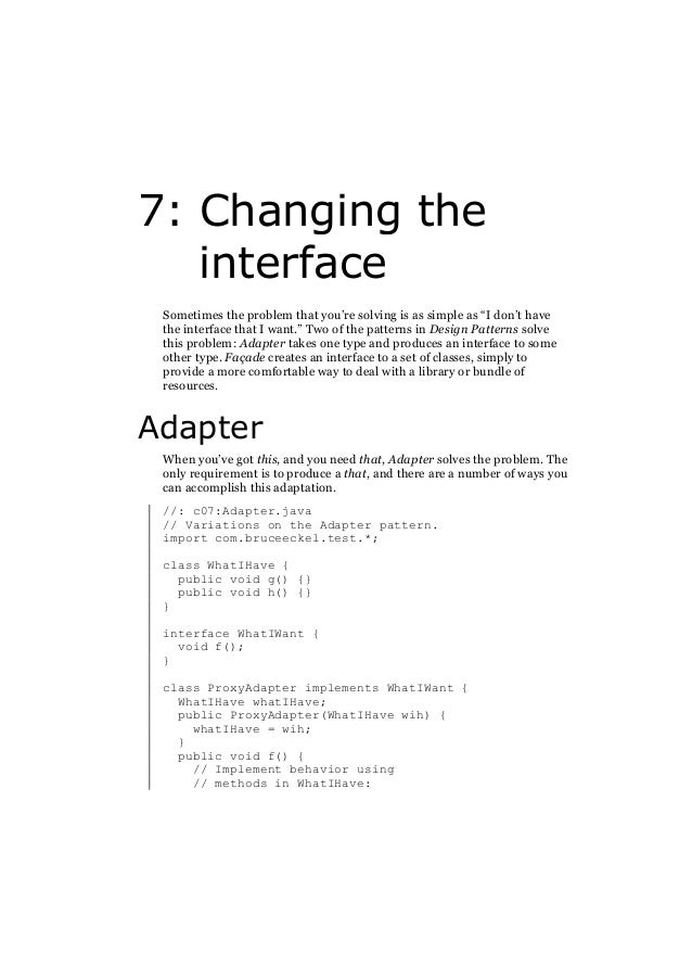 E book pdf thinking in patterns with java 69 the interpreter fandeluxe Gallery
