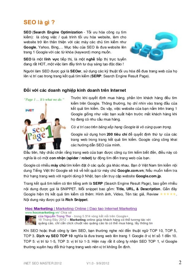 Ebook seo-master-201209 Slide 2