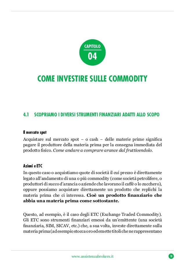impegno reale del trader nelle prime attività di investimento come regola doro numero uno