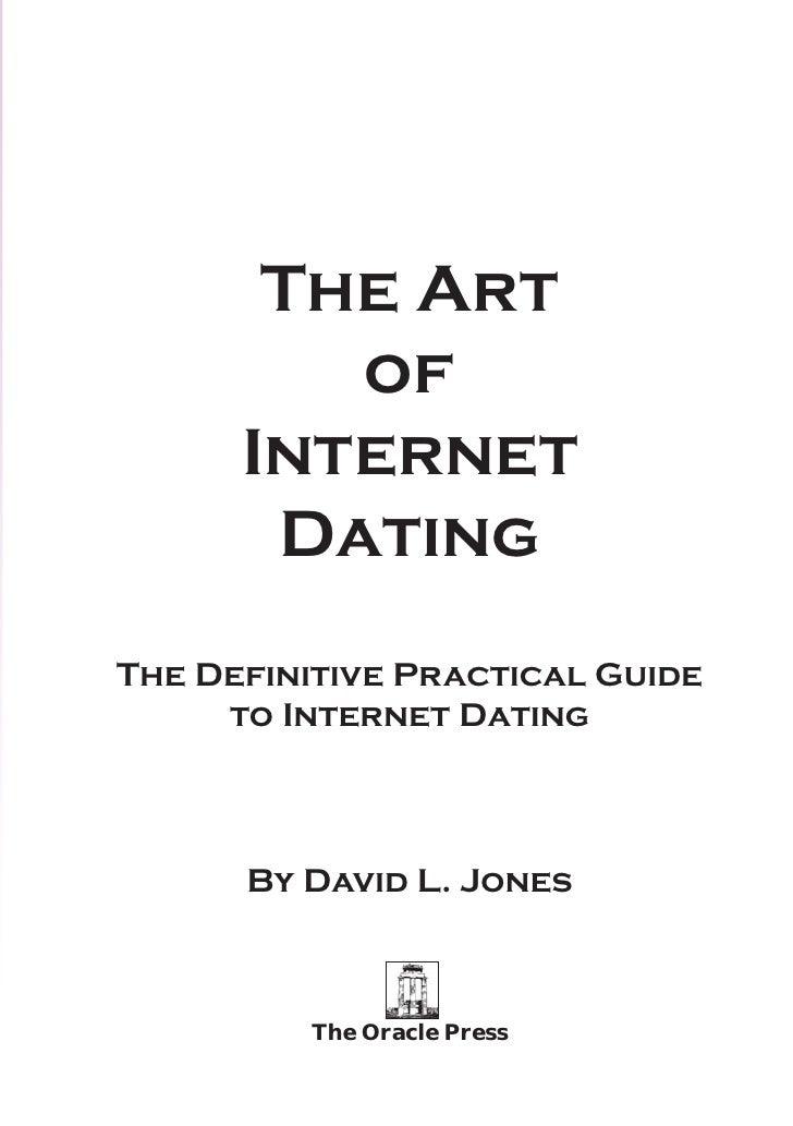 art of internet dating