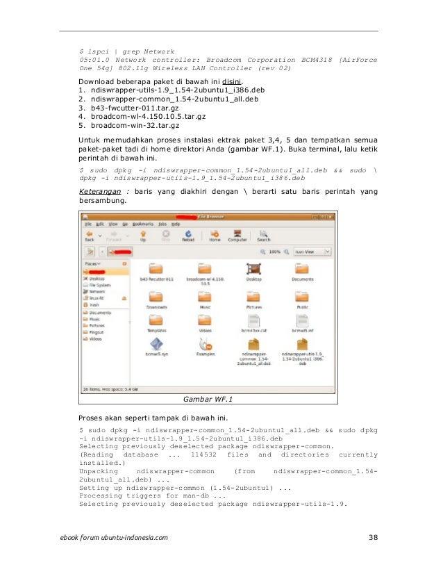 Bcm4318 ubuntu
