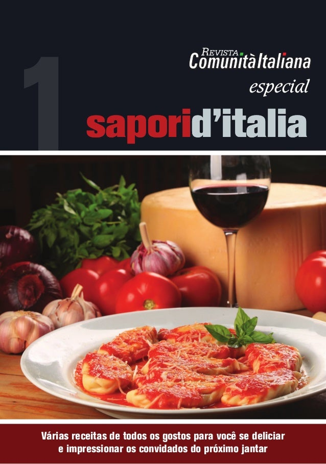 saporid'italia Várias receitas de todos os gostos para você se deliciar e impressionar os convidados do próximo jantar 1sa...