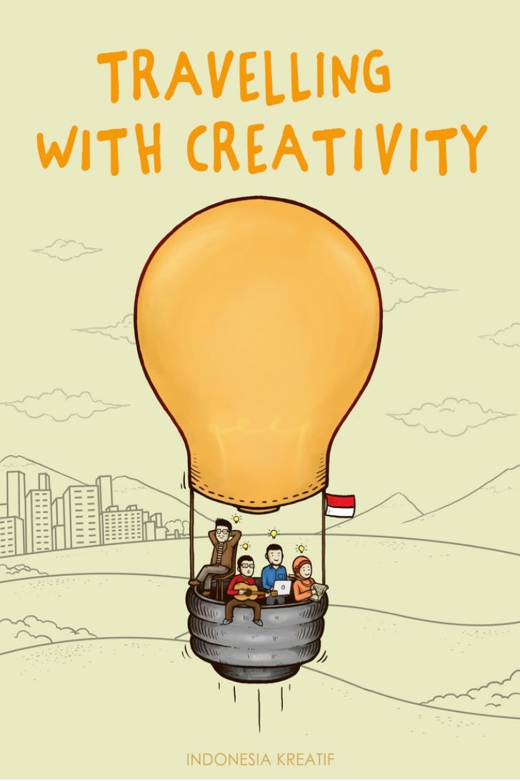 TRAVELLING WITH CREATIVITY                      Pembina                Mari Elka Pangestu                   Tim Pengarah  ...