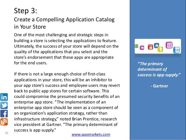 Ebook 10 steps for building a successful enterprise app store 15 saasmarkets 16 step 3 create a compelling application catalog in your store ccuart Images