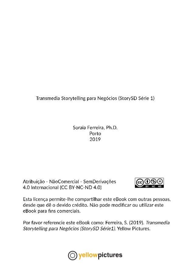 Transmedia Storytelling para Negócios (StorySD Série 1) Slide 2