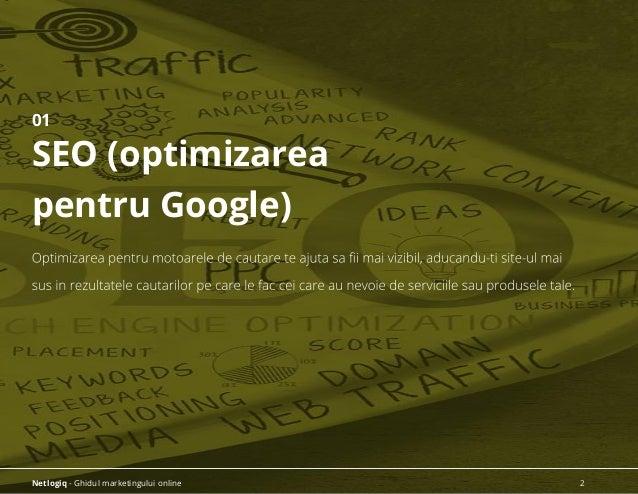 01 SEO (optimizarea pentru Google) Netlogiq - Ghidul marketingului online 2