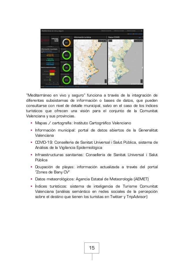 """15 """"Mediterráneo en vivo y seguro"""" funciona a través de la integración de diferentes subsistemas de información o bases de..."""