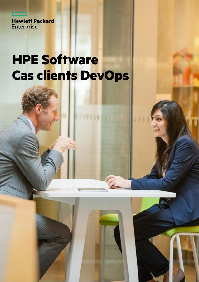 HPE Software Cas clients DevOps