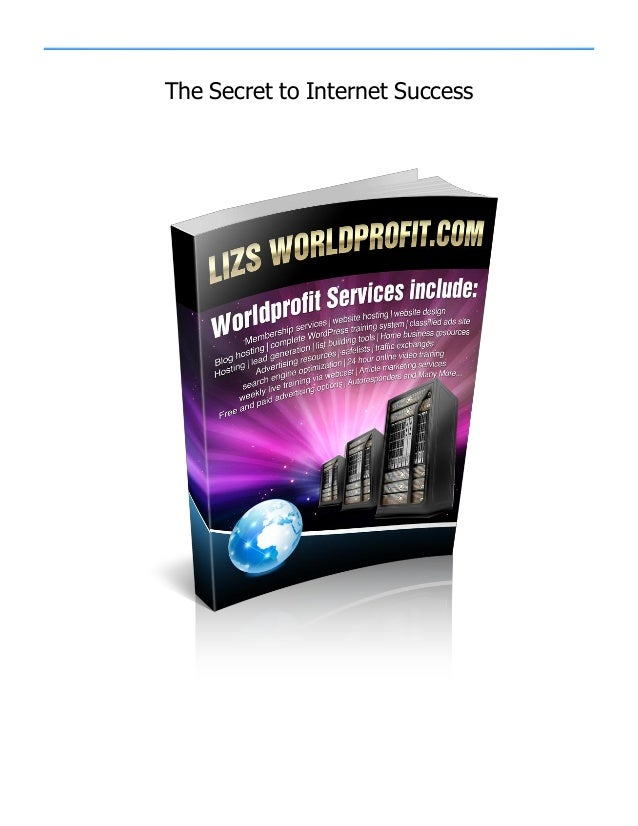 The Secret to Internet Success