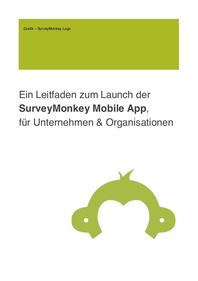 Ein Leitfaden zum Launch der SurveyMonkey Mobile App, für Unternehmen & Organisationen Grafik – SurveyMonkey Logo