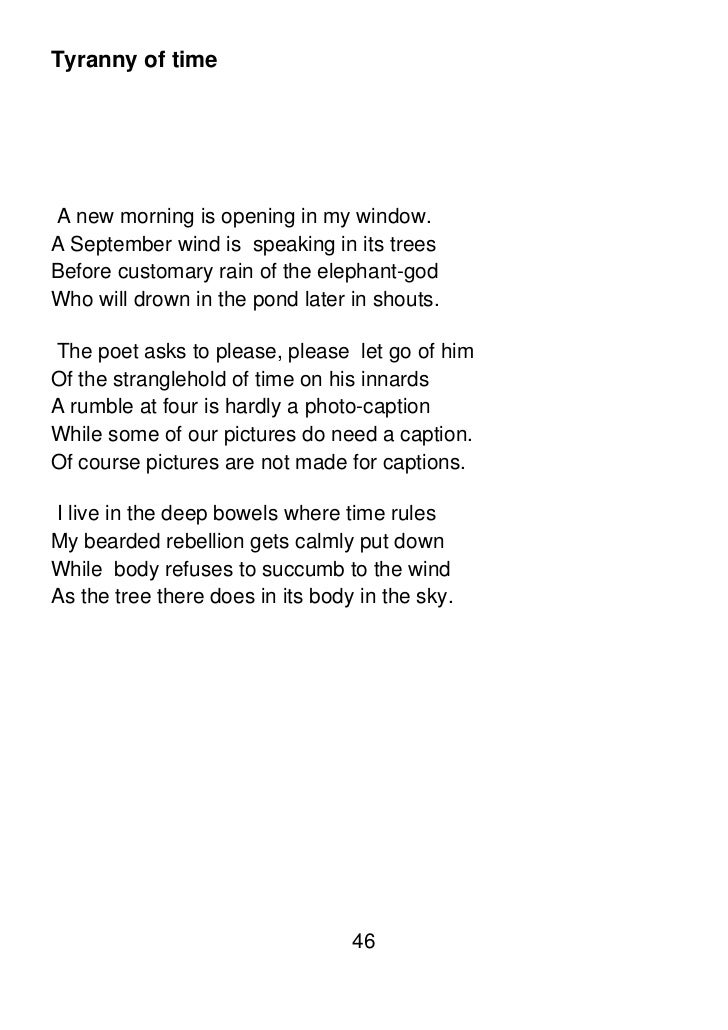 tree at my window poem