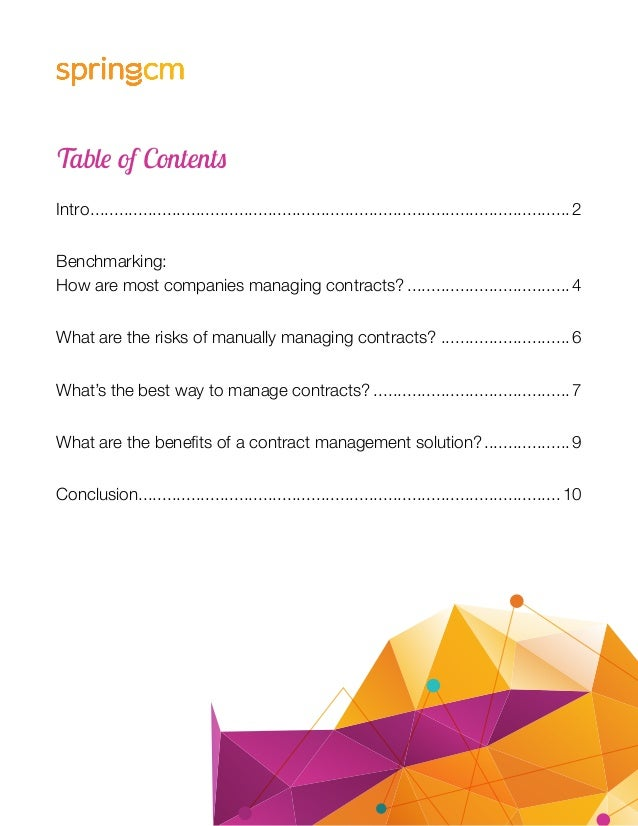 4 Risks Of Manually Managing Sales Contracts