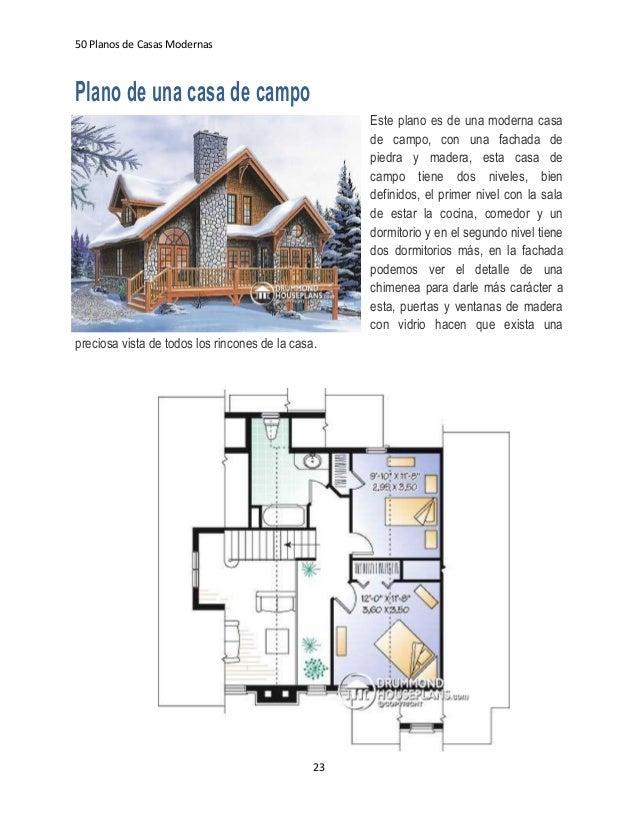 Ebook 50 Planos De Casas Modernas V1 1