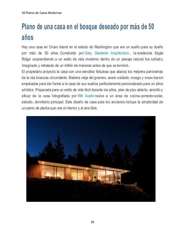 Ebook 50 planos de casas modernas v1 1 for Casas modernas en washington