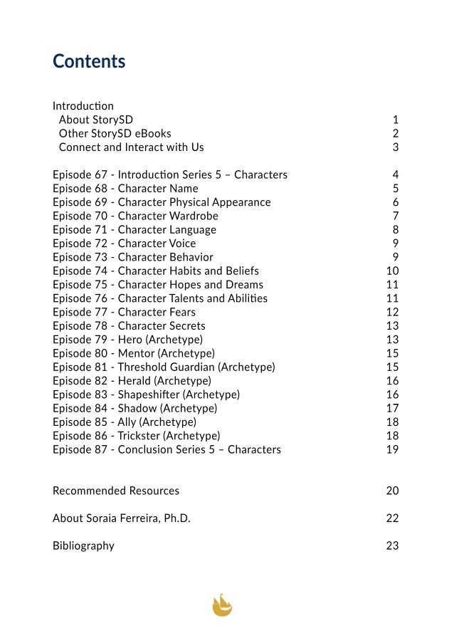 Characters  (StorySD Series 5) Slide 3
