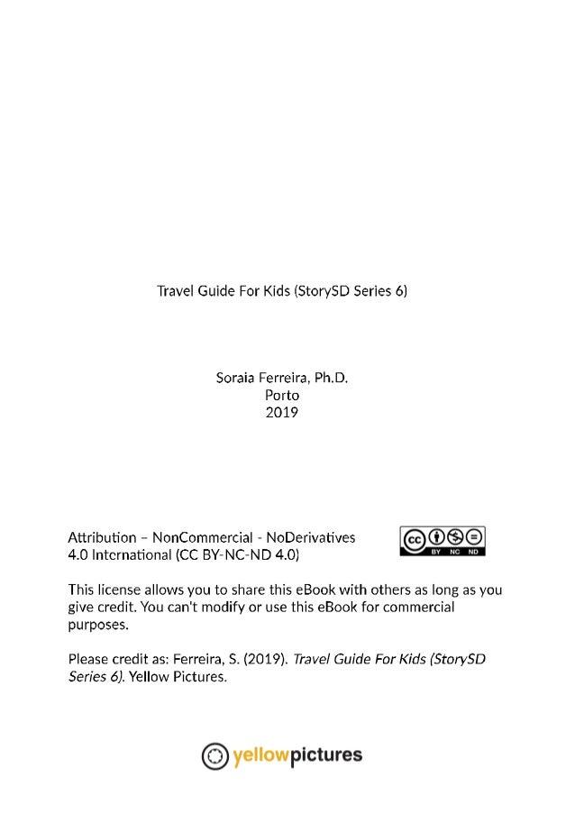 Travel Guide for Kids  (StorySD Series 6) Slide 2
