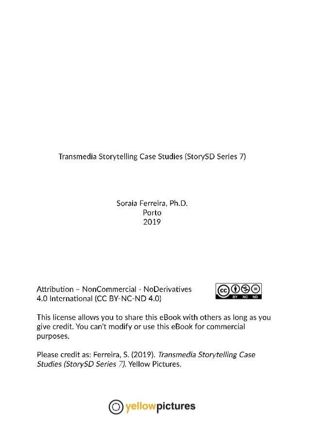 Transmedia Storytelling Case Studies (StorySD Series 7) Slide 2