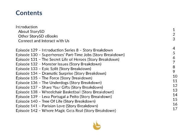 Story Breakdown (StorySD Series 8) Slide 3
