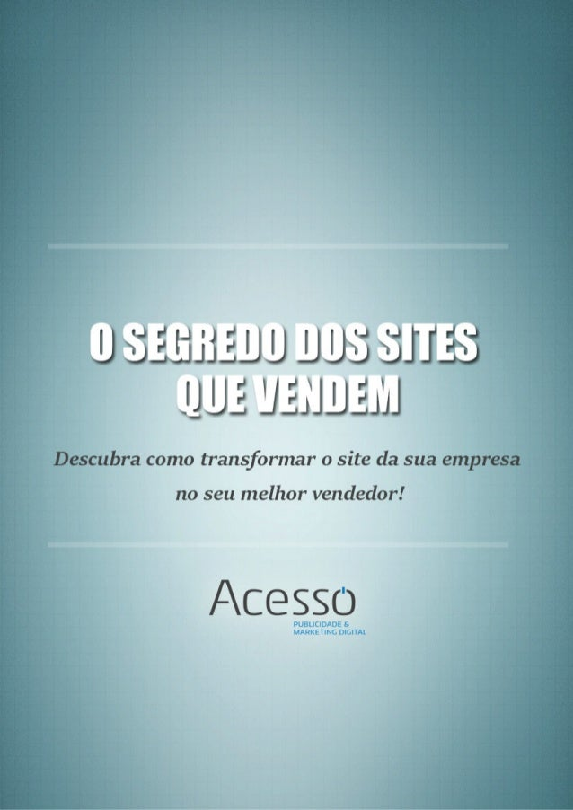 O SEU SITE PRECISA SER FÁCIL DE USAR! 1 O princípio básico de um website é que o cliente deve ser capaz de entender sua pá...