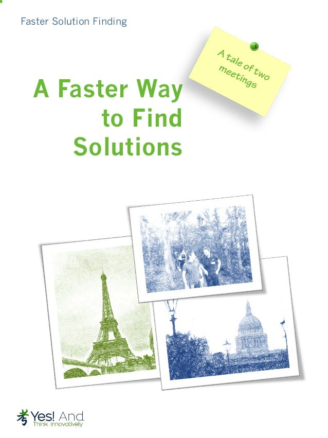 Faster Solution Finding A Faster Way to Find Solutions