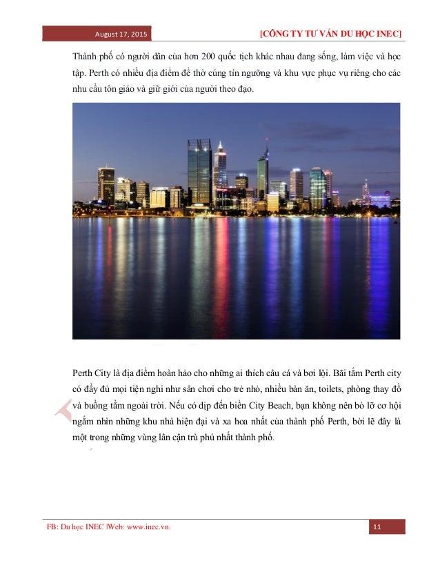 August 17, 2015 [CÔNG TY TƯ VẤN DU HỌC INEC] FB: Du học INEC |Web: www.inec.vn. 11 Thành phố có người dân của hơn 200 quốc...
