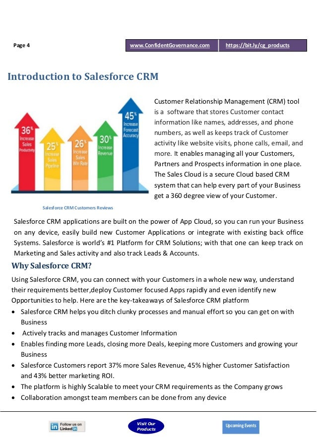 Confidentg ebook vital elements of salesforce crm compliance lead page 3 4 fandeluxe Image collections