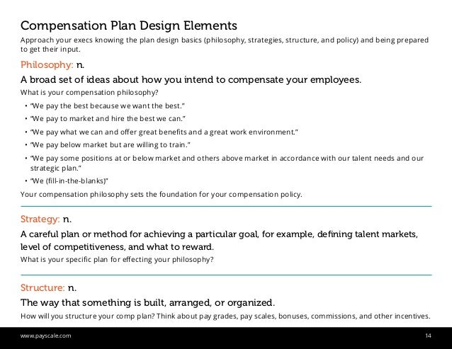 comp plan examples