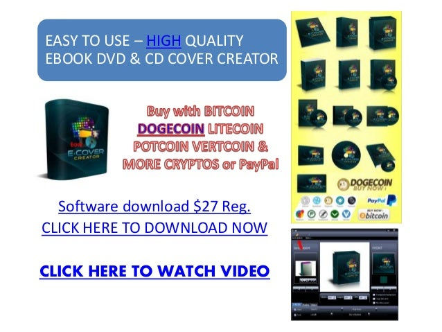 Ebook cover creator software Easy to use