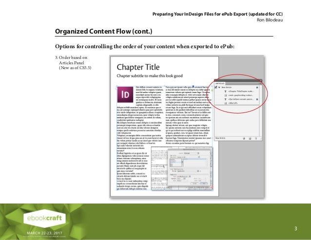 Leveraging InDesign for All It's Worth - Ron Bilodeau