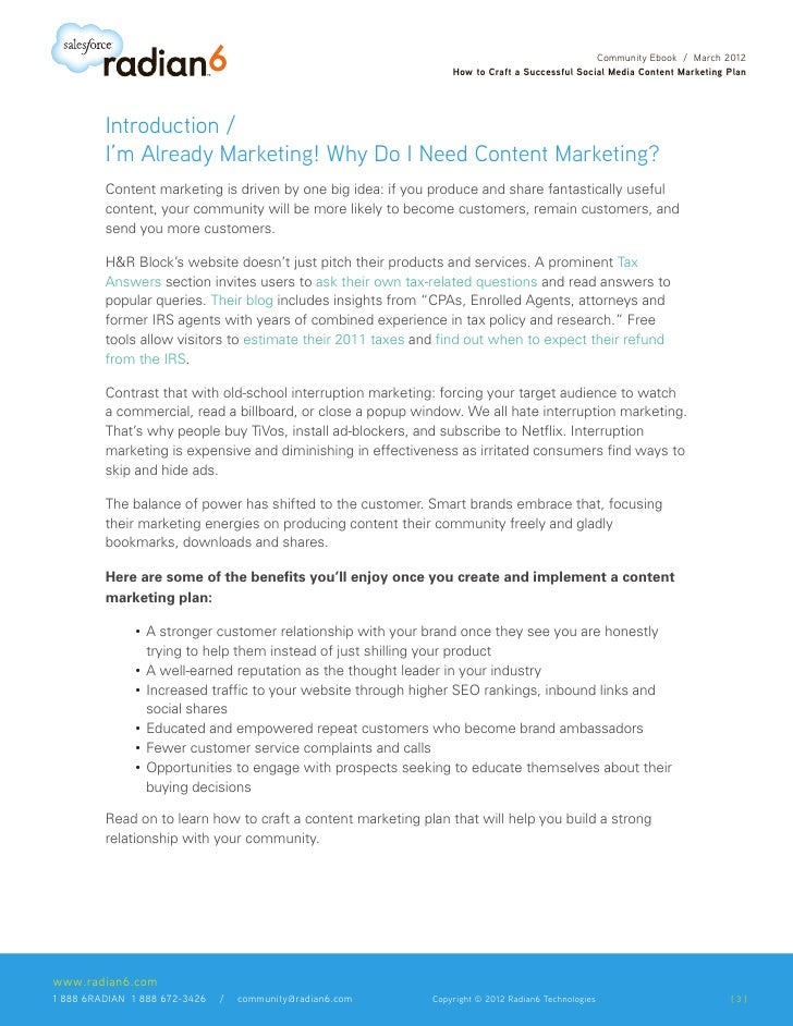 How to Craft a Successful  Social Media Content  Marketing Plan Slide 3