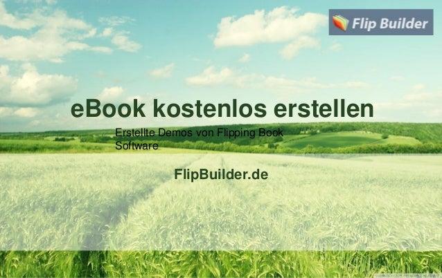 eBook kostenlos erstellen FlipBuilder.de Erstellte Demos von Flipping Book Software
