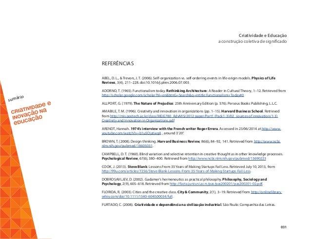 Ebook criatividade e inovao na educao 32 sumrio criatividade fandeluxe Gallery
