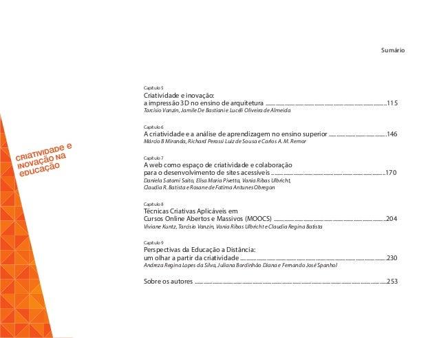 Ebook criatividade e inovao na educao 6 fandeluxe Gallery