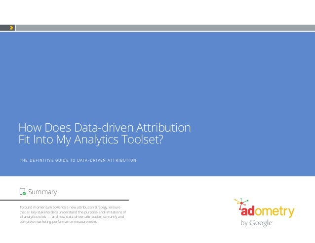 Ebook definitive guide to attribution final