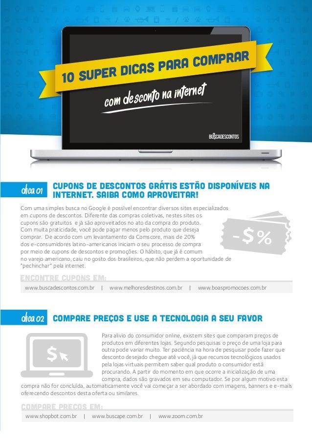 COM DESCONTO NA INTERNET COM DESCONTO NA INTERNET 10 SUPER DICAS PARA COMPRAR Cupons de descontos grátis estão disponíveis...