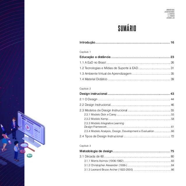 Capítulo 6 Proposta de inserção do design social no trabalho do designer na EAD..............................................