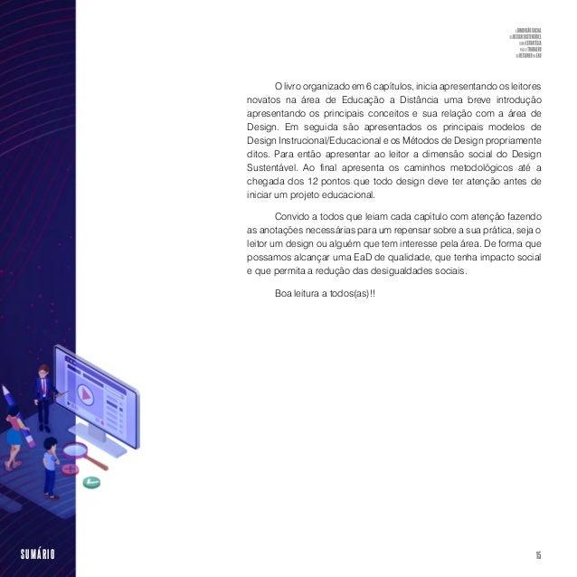 17SUMÁRIO (Cead1 ) do Instituto Federal do Espírito Santo (Ifes), em particular a equipe de designers do Setor de Produção...