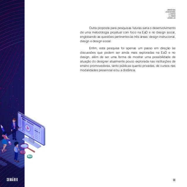 A dimensão social do design sustentável como estratégia para o trabalho do designer na EaD