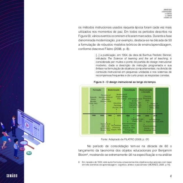 49SUMÁRIO Essa realidade apresenta a reunião de vários recursos como repositórios de informação: livros–texto, enciclopédi...