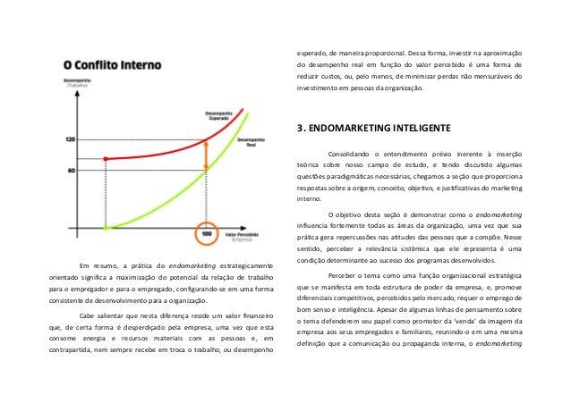 Em  resumo,  a  prática  do  endomarketing  estrategicamente orientado  significa  a  maximização  ...