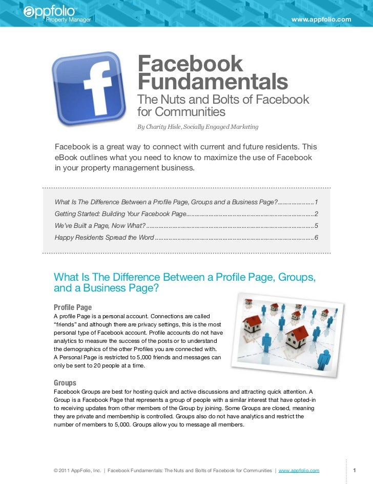Facebook for property managers how to guide ebook appfolio fandeluxe Ebook collections