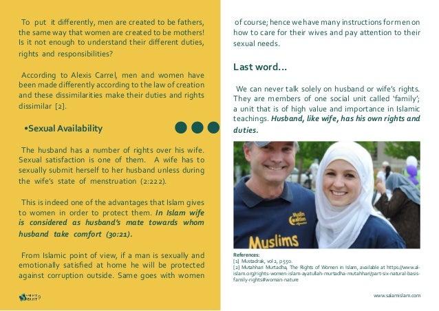 Sexual satifaction in islam