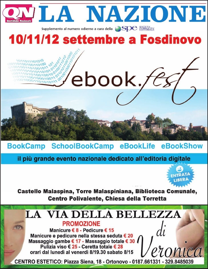 eBookFest - La Nazione