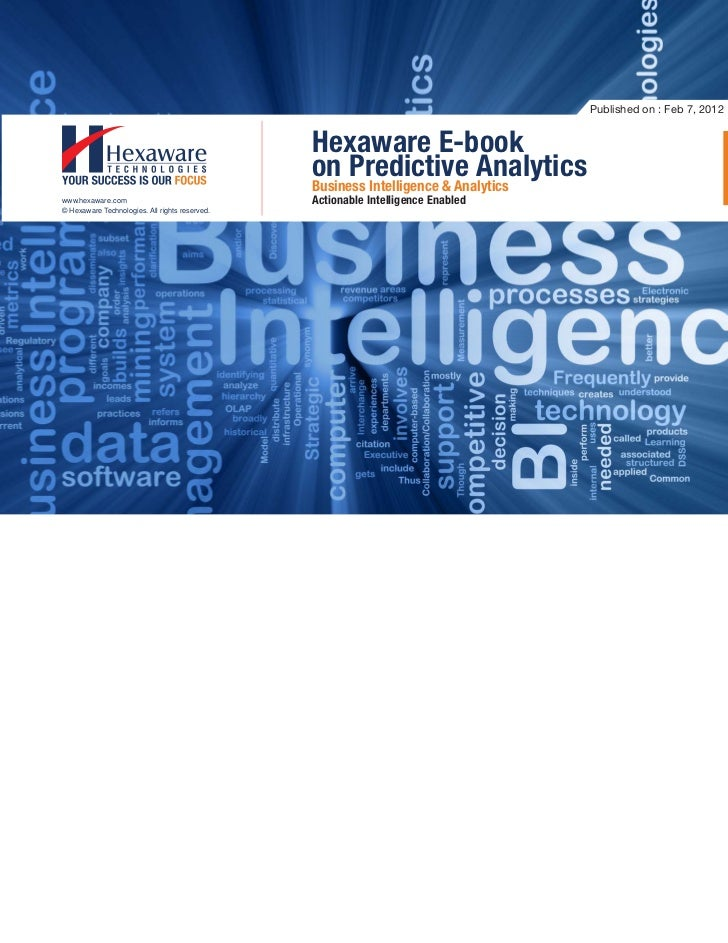 Published on : Feb 7, 2012                                                Hexaware E-book                                 ...