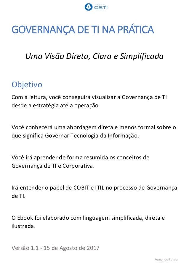 Livro Implantando A Governanca De Ti Pdf